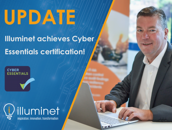UPDATE: Illuminet achieves Cyber Essentials 3 years running!
