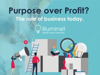 Purpose over Profit? The role of business today.