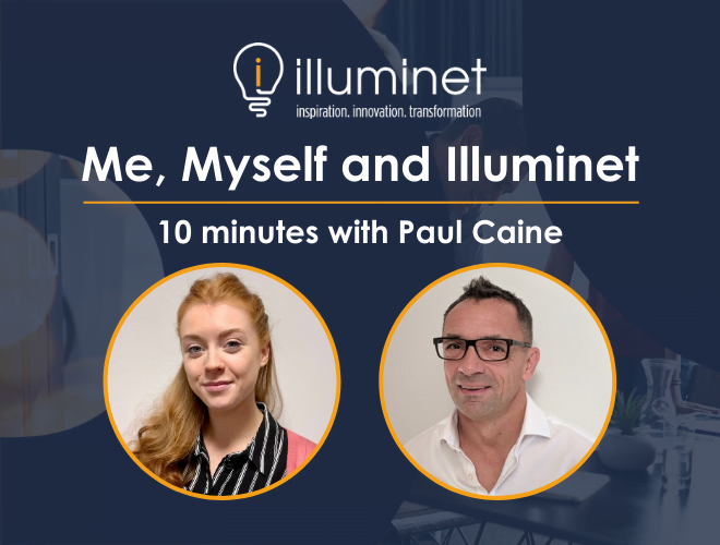 Me, Myself and Illuminet: 10 minutes with Paul Caine