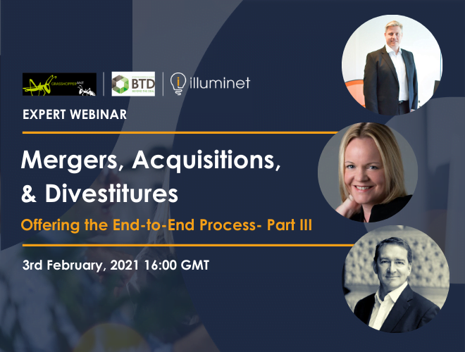 Mergers, Acquisitions & Divestitures- Join us for Part 3 of our Expert Webinar Series!