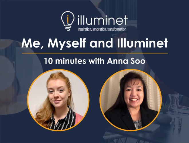 Me, Myself and Illuminet: 10 minutes with Anna Soo