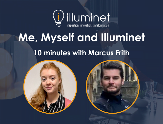 Me, Myself and Illuminet: 10 minutes with Marcus Frith
