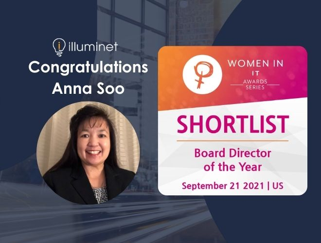 Illuminet's Anna Soo, shortlisted for the Women in IT Summit & Awards Series